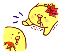 Aloha chick sticker #396295