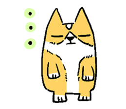 3 Corgi sticker #396429