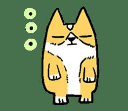 3 Corgi sticker #396429