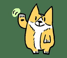 3 Corgi sticker #396431