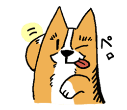 3 Corgi sticker #396433