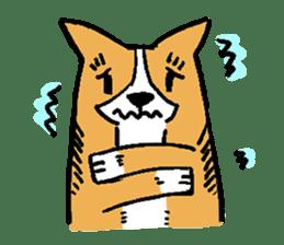 3 Corgi sticker #396434