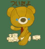 teddy's-2 sticker #396705