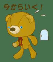 teddy's-2 sticker #396709