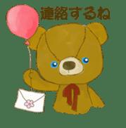 teddy's-2 sticker #396717