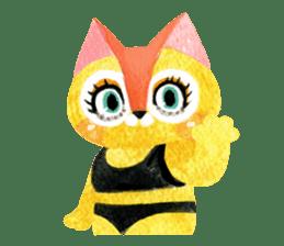 BIKINI CATS sticker #396792