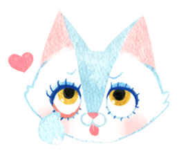 BIKINI CATS sticker #396815