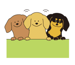 All Dachshund ! sticker #397115