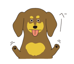 All Dachshund ! sticker #397140