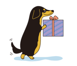 All Dachshund ! sticker #397142
