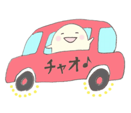 HONWAKA friends sticker #397261