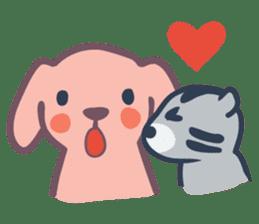 Docky & Molly 02 sticker #397340