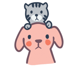 Docky & Molly 02 sticker #397344