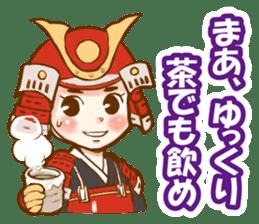 feudal warlord,SAMURAI sticker #397546