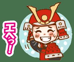 feudal warlord,SAMURAI sticker #397547