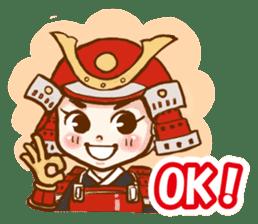 feudal warlord,SAMURAI sticker #397550