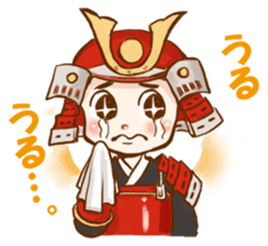 feudal warlord,SAMURAI sticker #397553