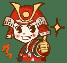 feudal warlord,SAMURAI sticker #397566