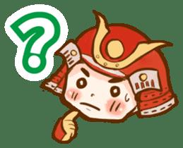 feudal warlord,SAMURAI sticker #397567