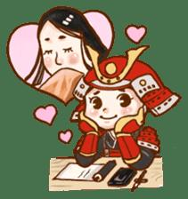 feudal warlord,SAMURAI sticker #397569