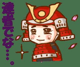 feudal warlord,SAMURAI sticker #397572