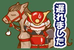 feudal warlord,SAMURAI sticker #397576