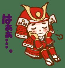 feudal warlord,SAMURAI sticker #397582