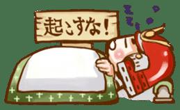 feudal warlord,SAMURAI sticker #397584