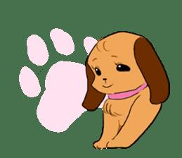 Love dogs sticker #398206