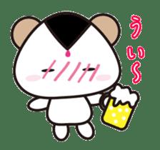 Onigiri Bear sticker #398310
