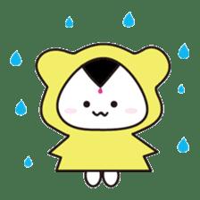 Onigiri Bear sticker #398322