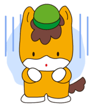 """Japanese Yuruchara""""Gunmachan"""" sticker #398747"""