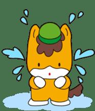 """Japanese Yuruchara""""Gunmachan"""" sticker #398750"""