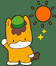"""Japanese Yuruchara""""Gunmachan"""" sticker #398760"""
