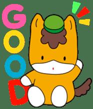 """Japanese Yuruchara""""Gunmachan"""" sticker #398762"""