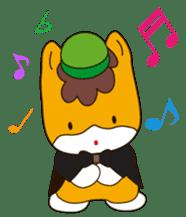 """Japanese Yuruchara""""Gunmachan"""" sticker #398767"""