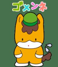 """Japanese Yuruchara""""Gunmachan"""" sticker #398774"""