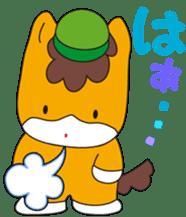 """Japanese Yuruchara""""Gunmachan"""" sticker #398778"""