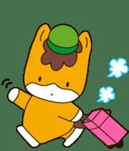 """Japanese Yuruchara""""Gunmachan"""" sticker #398780"""