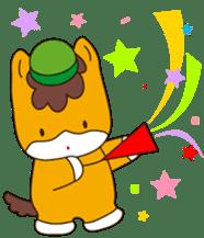 """Japanese Yuruchara""""Gunmachan"""" sticker #398781"""