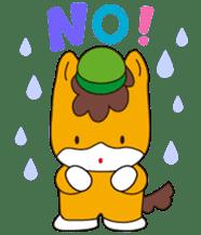 """Japanese Yuruchara""""Gunmachan"""" sticker #398783"""
