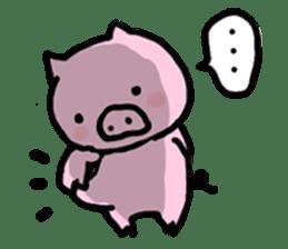 the pig which diets sticker #398945