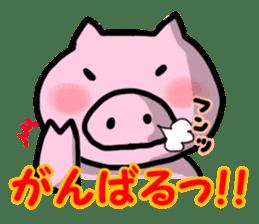 the pig which diets sticker #398948