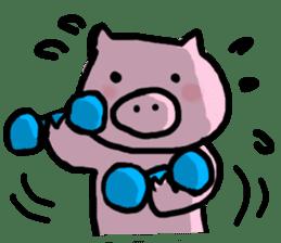 the pig which diets sticker #398950