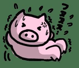 the pig which diets sticker #398953