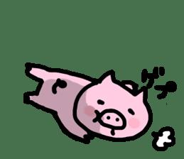the pig which diets sticker #398955