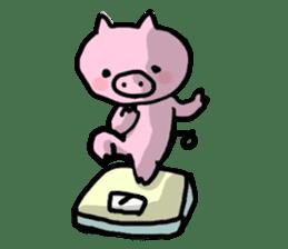 the pig which diets sticker #398957