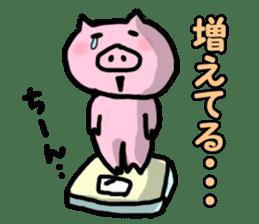 the pig which diets sticker #398959