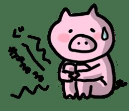 the pig which diets sticker #398961