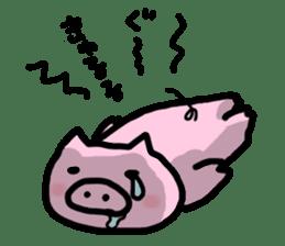 the pig which diets sticker #398962